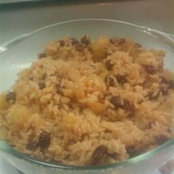 Cinnamon Rice with Apples Recipe