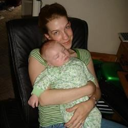 My son and me