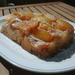 Peach Upside-Down Cake III Recipe
