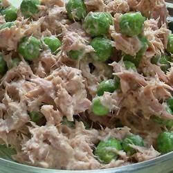 tuna fish pea salad review by gadget