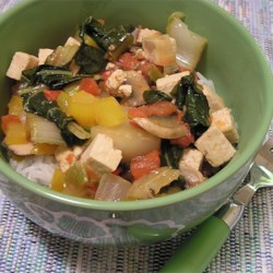 Coconut Curry Tofu Recipe