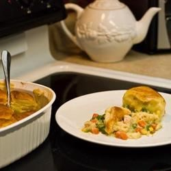 Cheater Pot Pie Recipe