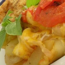 Zucchini, Tomato, and Onion Casserole Recipe