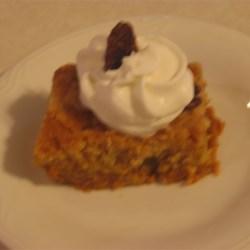 Upside Down Pumpkin Cake