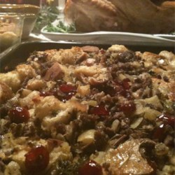 Image of Awesome Sausage, Apple And Cranberry Stuffing, AllRecipes