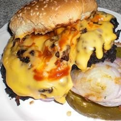 Photo of The Burger Your Mama Warned You About! by JOHN MITSCHKE