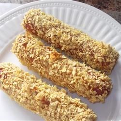 Photo of Easy, Crunchy Hot Dogs by julie