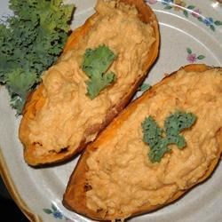 Photo of Twice Baked Sweet Potatoes by Andrea