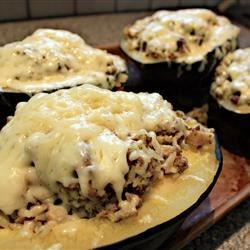 Photo of Stuffed Acorn Squash Supreme by DRDEDE