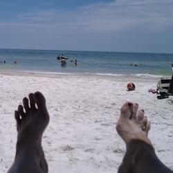 Loving the beach!