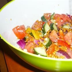 Greek Lentil Salad |