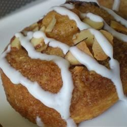 Almond Crescent Buns Recipe