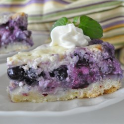 Nova Scotia Blueberry Cream Cake Recipe