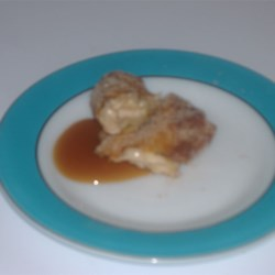 Caramel Apple Roll-Ups Recipe
