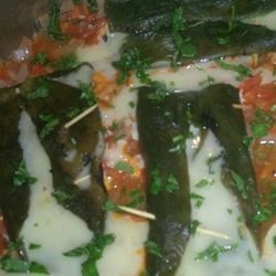 Miguelina's Poblanos and Cheese