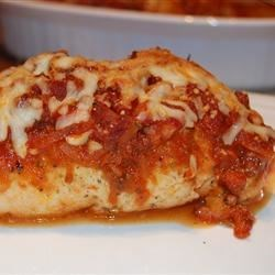 Brenda's Pepperoni Chicken Rollups