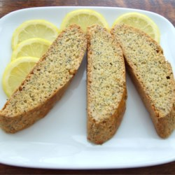 Lemon Poppy Seed Biscotti Recipe