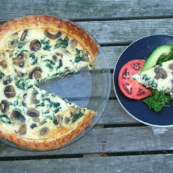 basic quiche by shelly printer friendly