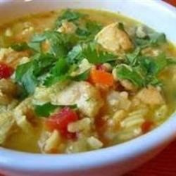 Photo of Chicken Mulligatawny Soup by Lux