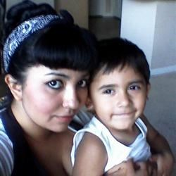 My youngest and I