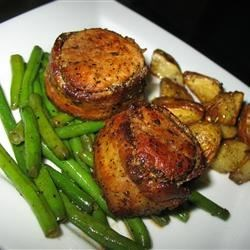 Bacon Wrapped Pork Medallions Recipe