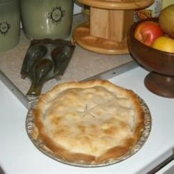 Never Fail Pie Crust III Recipe