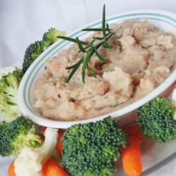 White Bean Spread With Garlic & Rosemary Recipe