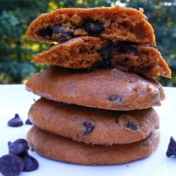 Pumpkin Chocolate Chip Cookies III Recipe