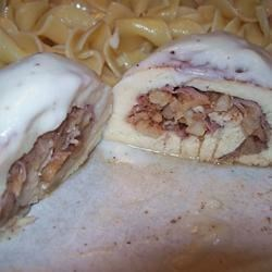 Apple and Prosciutto Stuffed Chicken Breast Recipe
