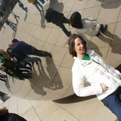 "Me by the Chicago ""Bean"""