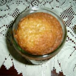 Caramel Nut Cake in a Jar