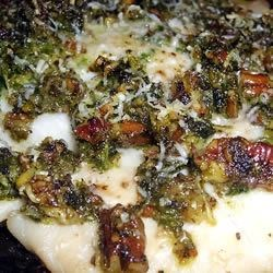 Tasty Topped Tilapia