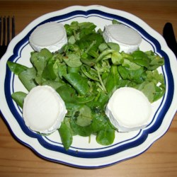 Lamb's lettuce and arugula salad