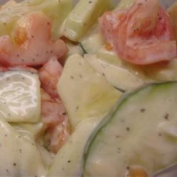 Refreshing Cucumber Salad