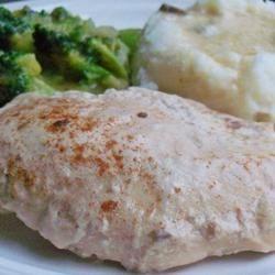 Slow Cooker Chicken Parisienne