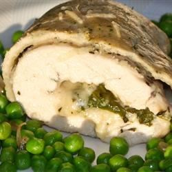 Stuffed Chicken with Pastry Crust