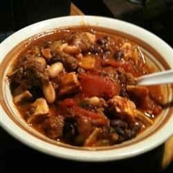 Jamaican Me Crazy Chili Recipe