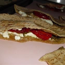 Warm Goat Cheese Sandwiches Recipe