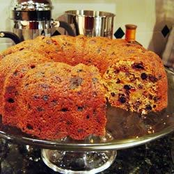 Never Fail Fruit Cake Recipe