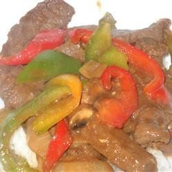 Kikkoman Chinese Pepper Steak Recipe