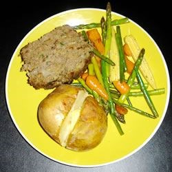 Photo of Simply Divine Meat Loaf with Spinach by Heidi Hunt