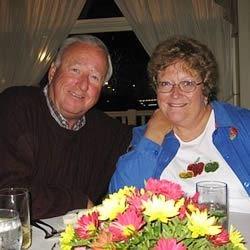 My husband (of 36 yrs) & I at The Gettyburg Inn