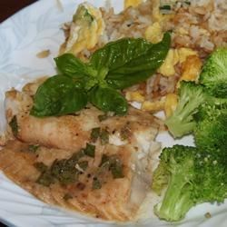 Broiled Sweet and Tangy Tilapia
