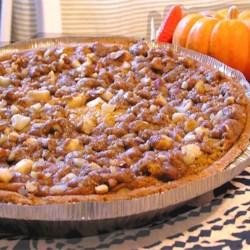 Karen Ayala's pumpkin pie