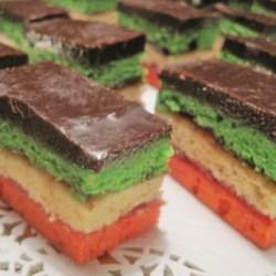 rainbow cookies printer friendly
