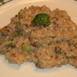 Photo of Creamy Edamame Risotto by claudinhull