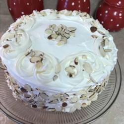 White Almond Wedding Cake Recipe Photos Allrecipes Com