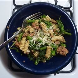 Chorizo and Broccoli Rabe Pasta Recipe