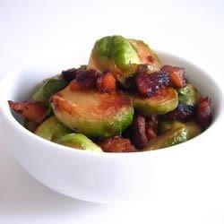 Quick Brussels and Bacon Recipe