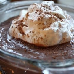 Chocolate Cornstarch Pudding |